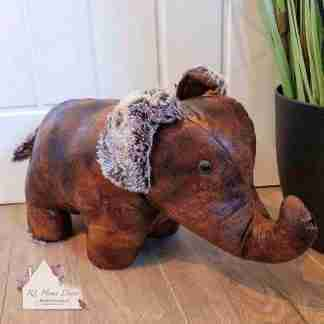 Antique Elephant Doorstop