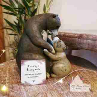 Mother And Baby Bear Ornament