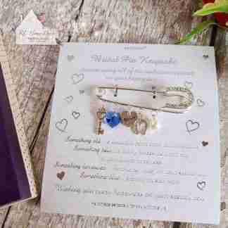Equilibrium Bridal Pin
