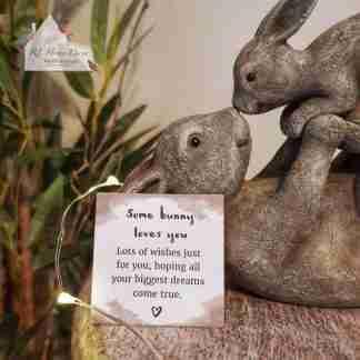 Playful Bunny Ornament