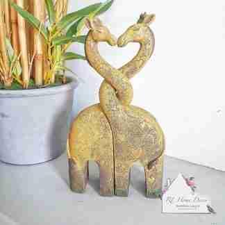 Giraffe Couple Ornament