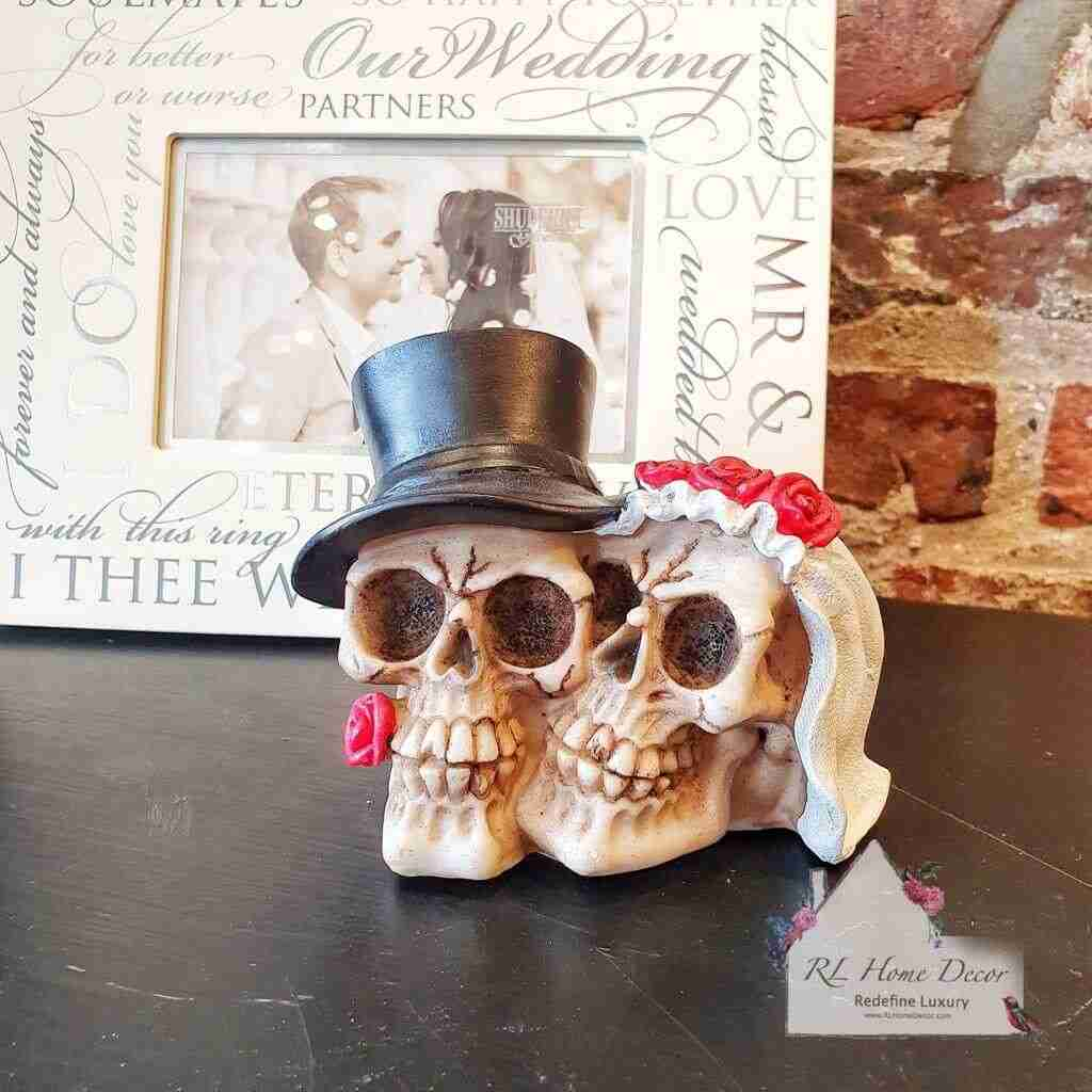 Together Forever Wedding Skull