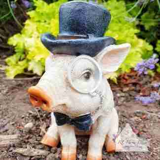Pig With Monocle