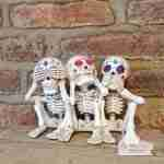 Set Of Three Wise Calaveras