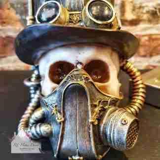 Steampunk Mask Skull