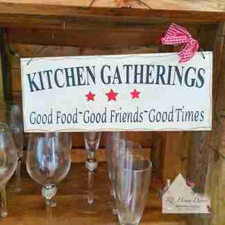 Kitchen Gatherings Plaque