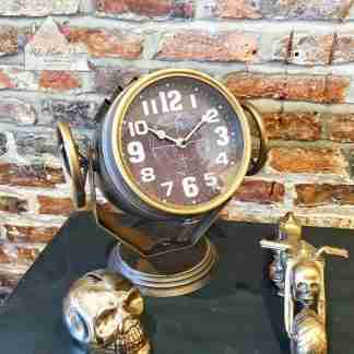 Search Light Standing Clock