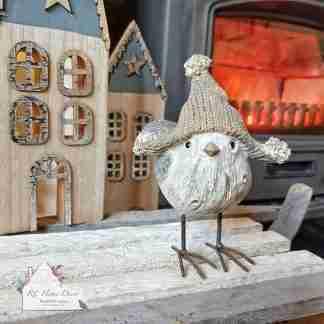 Christmas Standing Bird