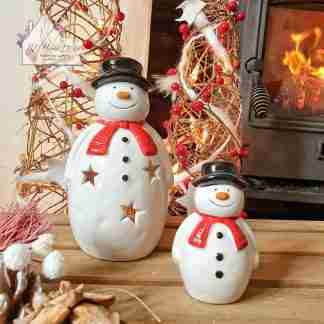 Christmas Pot Snowman