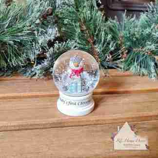 First Christmas Snow Globe Penguin