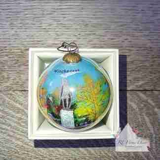 Winchester Autumnal Christmas Bauble