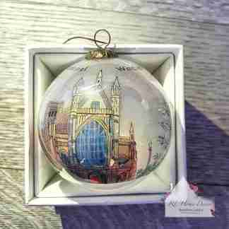 Winchester Cathedral Christmas Bauble