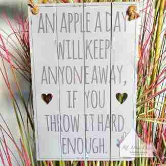 Apple A Day Sign