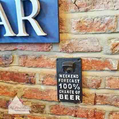 Cast Iron Weekend Bottle Opener