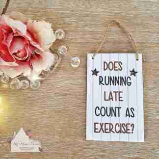 Exercise Small Sign Assortment