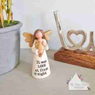 First Sight Love Angel Ornament