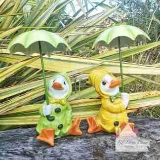 Sitting Dilly & Dally Ducks