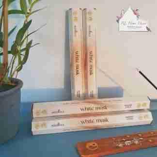 Elements White Musk Incense Sticks