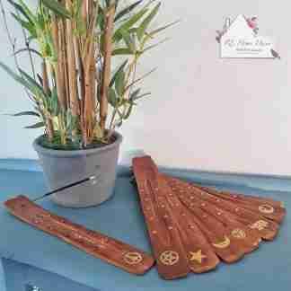 Mango Wood Incense Stick Holder