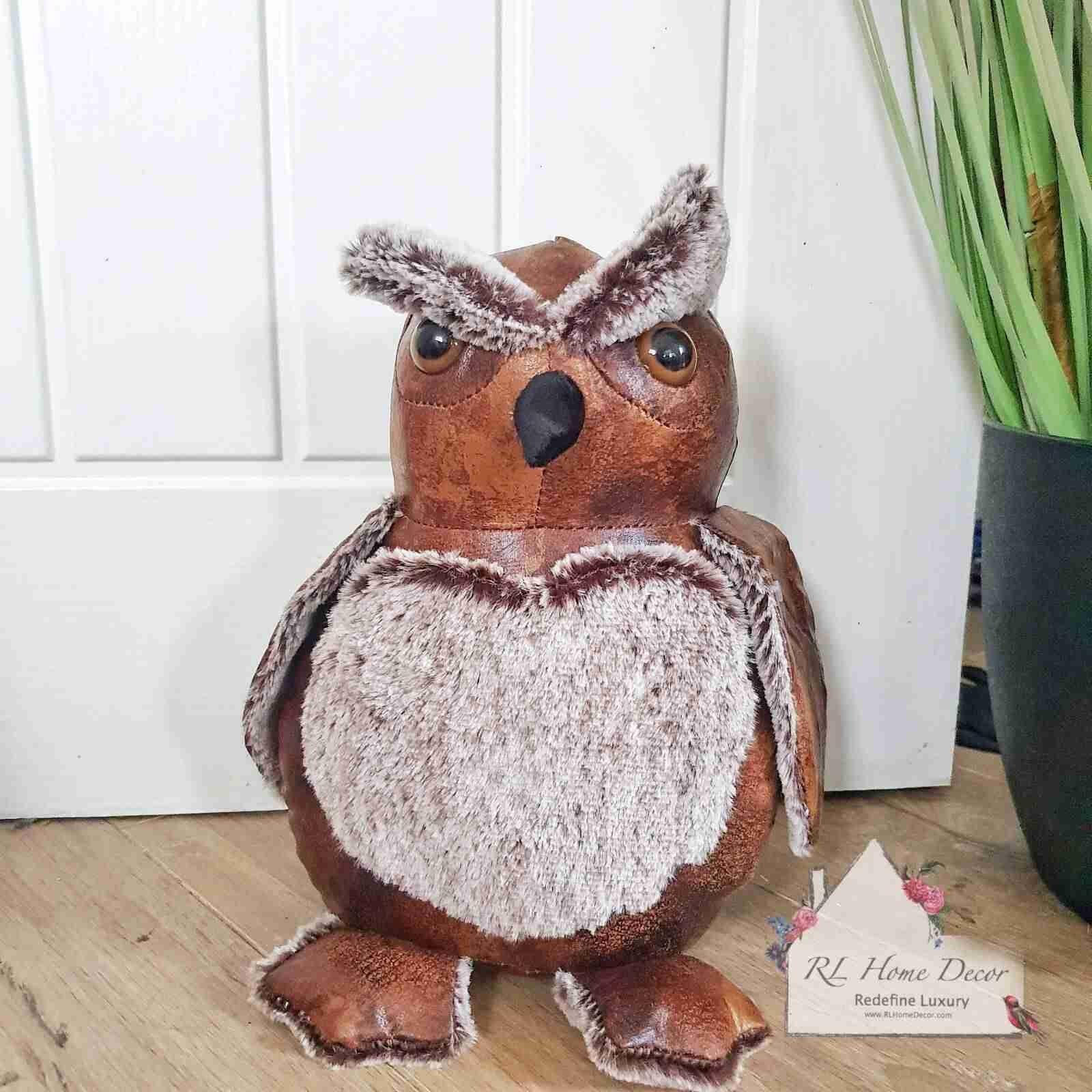 Antique Owl Doorstop
