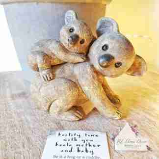 Mother And Baby Koala Ornament
