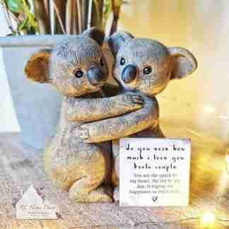 Koala Couple Ornament