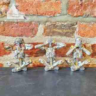 Steampunk Silver Skeleton Set