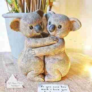 Koala Couple Ornament