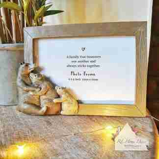 Bear Family Photo Frame