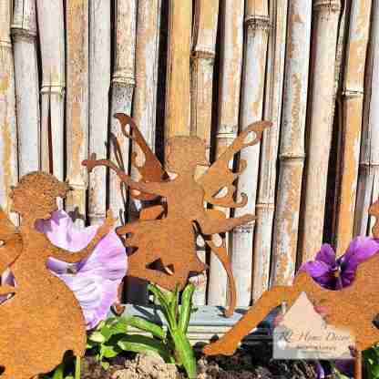 Garden Metal Fairy Stake Assortment