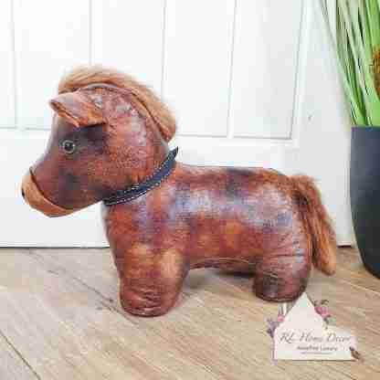 Antique Pony Doorstop