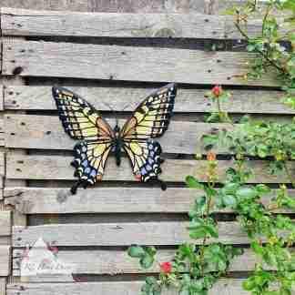 Garden Metal Gold Butterfly