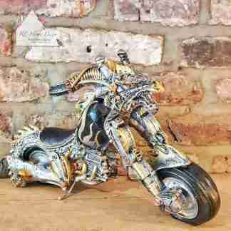 Steampunk Dragon Motorcycle
