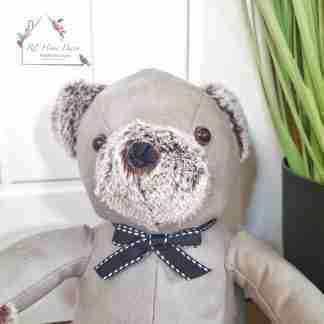 Grey Bear Doorstop