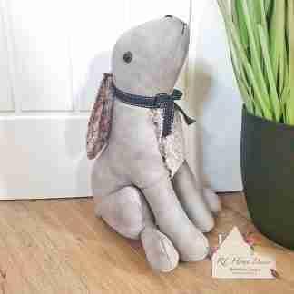 Grey Hare Doorstop