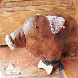 Antique Pig Doorstop