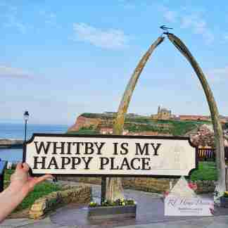 Whitby Road Sign