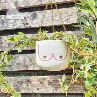 Boobie Hanging Planter
