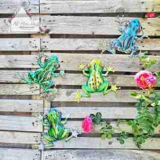 Garden Metal Frog Assortment