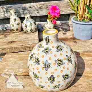 Large Bee Vase