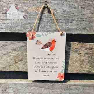 Robin Sentimental Assortment Sign