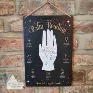 Palmistry Metal Sign