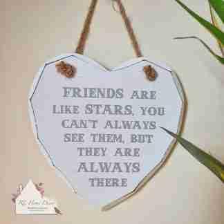 Friends Heart Plaque