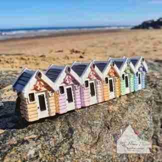 Small Beach Hut Ornament