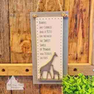 Giraffe Baby Sign