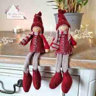 Christmas Shelf Sitter Dolls