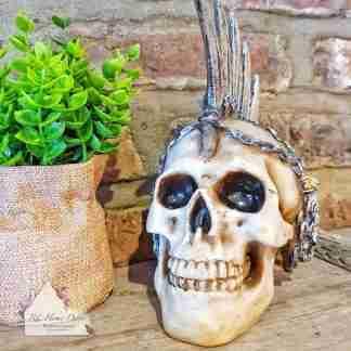 Chain Blade Skull