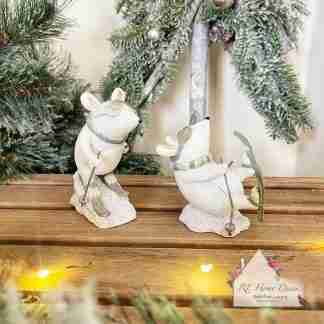 Christmas Skiing Mice Assortment
