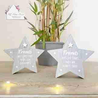 Friend Grey Star Sign