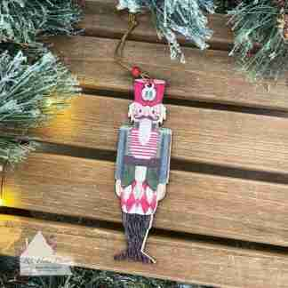 Hanging Wooden Christmas Nutcrackers